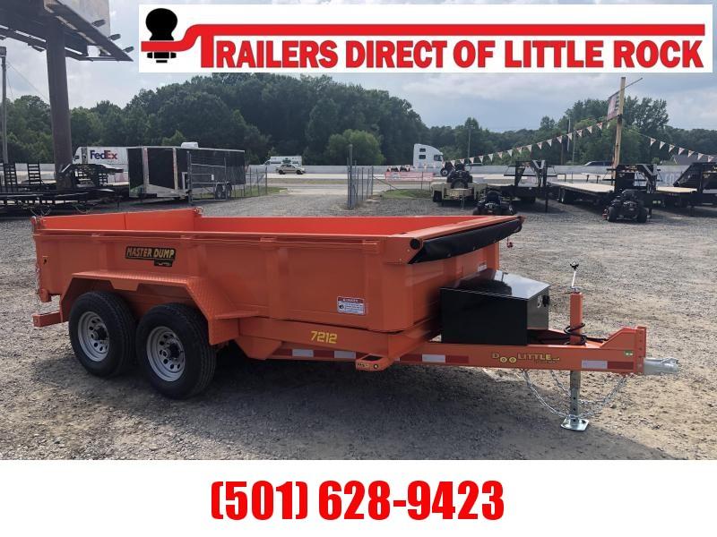 2019 Doolittle Trailer Mfg RENTAL Master Dump 82x14 14k Dump Trailer