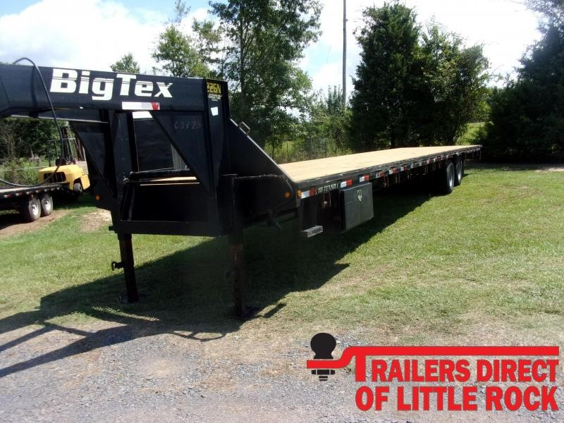 2015 Big Tex Trailers 22GN-40 Equipment Trailer