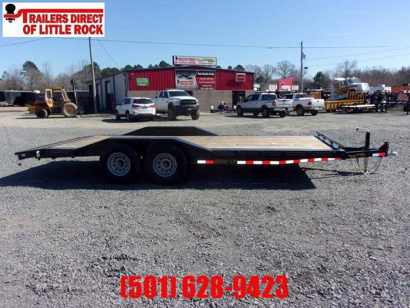 Doolittle Channel Flatbed 82x20 14K Equipment Trailer