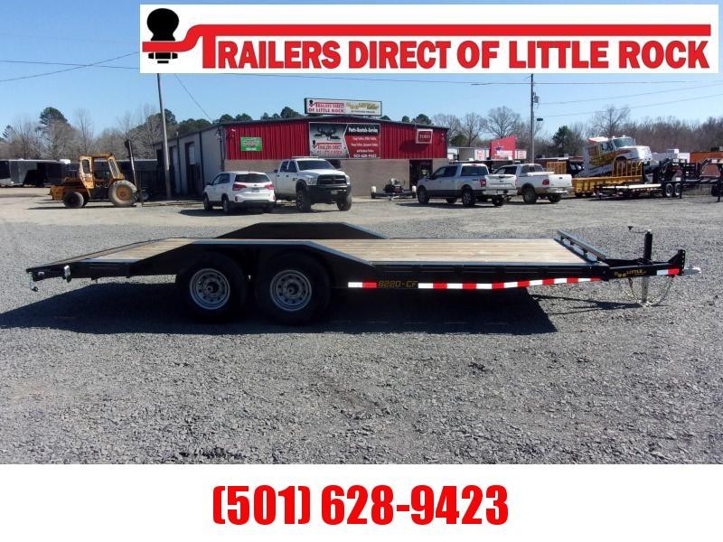 Doolittle Channel Flatbed 82x20 14K Equipment Trailer