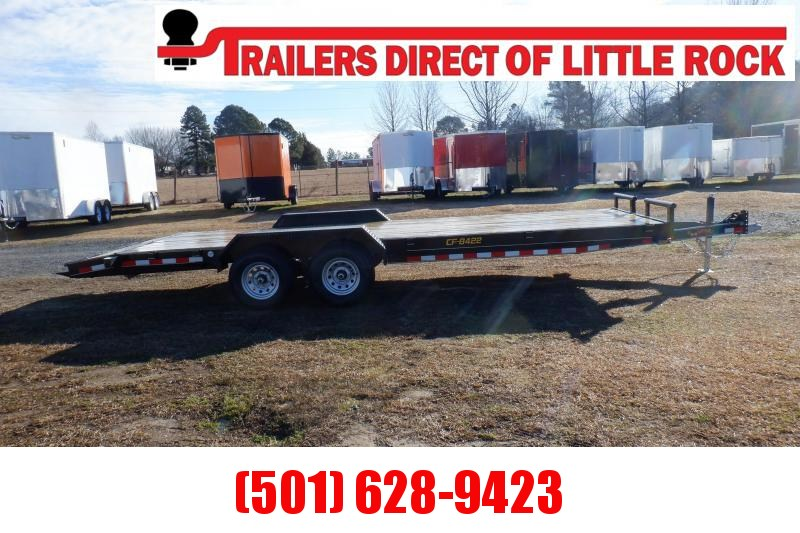 Doolittle Channel Flatbed  84x22 10K GVWR Equipment Trailer