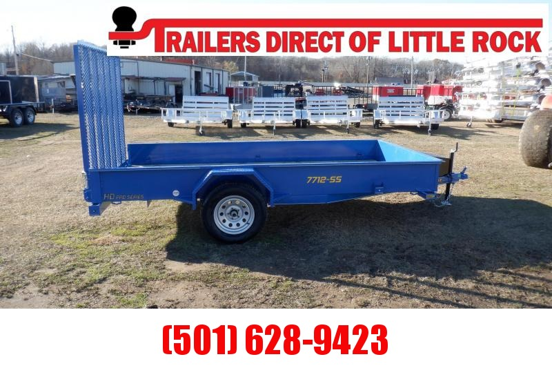 Doolittle SS 77X12 Utility Trailer TOOL BOX 5' EZ LIFT GATE