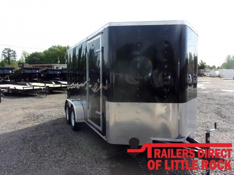 2020 Doolittle Trailer Mfg Bullitt 7' Wide Tandem Axle 7K Enclosed Cargo Trailer