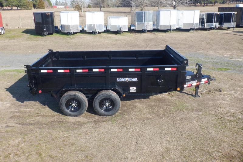 "2020 Load Trail DH14 - 14000lb 8"" Frame Low-Pro Dump Trailer Dump Trailer"
