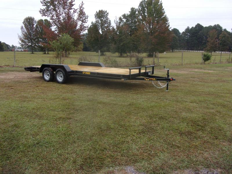 Doolittle 84x20 Channel Flatbed 7K GVWR Equipment Trailer