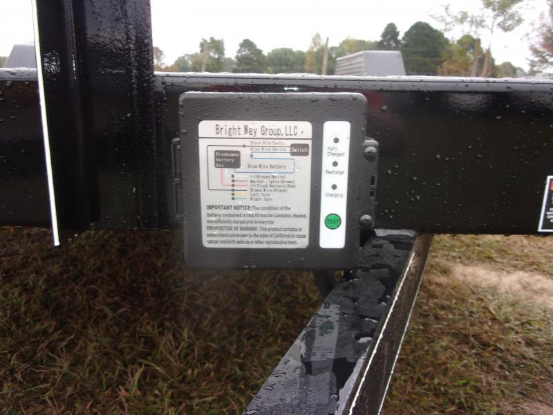 Doolittle 84x20 Channel Flatbed 7K GVWR Equipment Trailer