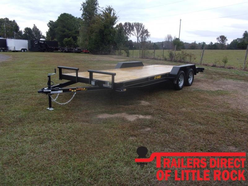 2021 Doolittle Trailer Mfg Channel Flatbed 7K Equipment Trailer