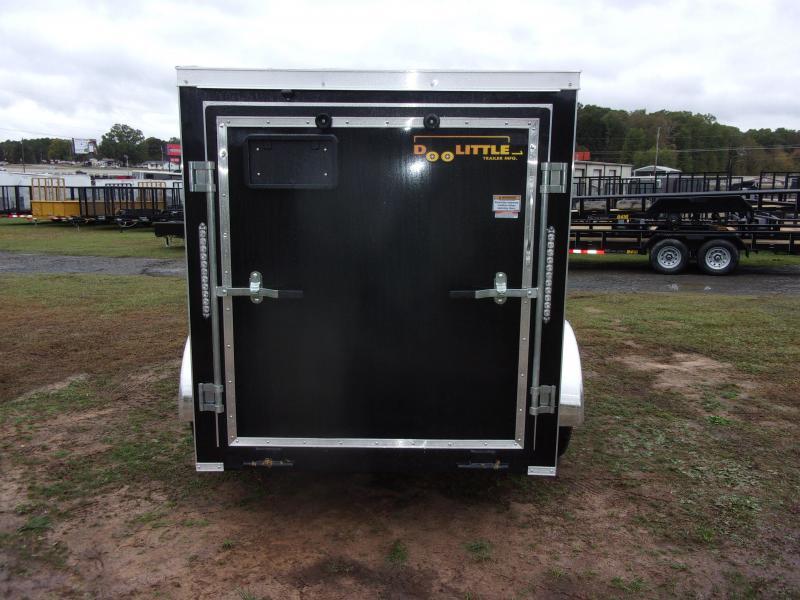 Doolittle  Bullitt 5X8 Enclosed  Rear Ramp & Side Door