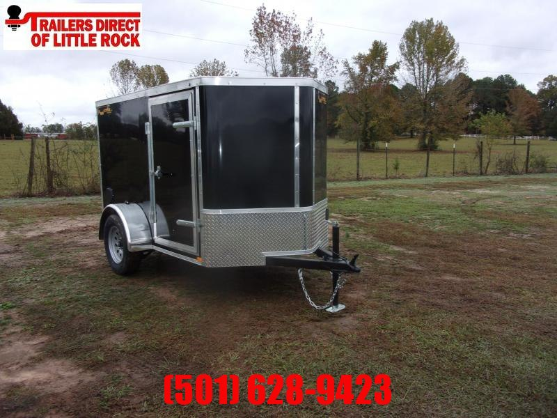 Doolittle  Bullitt 5X8 Enclosed  Rear Ramp & Side Door