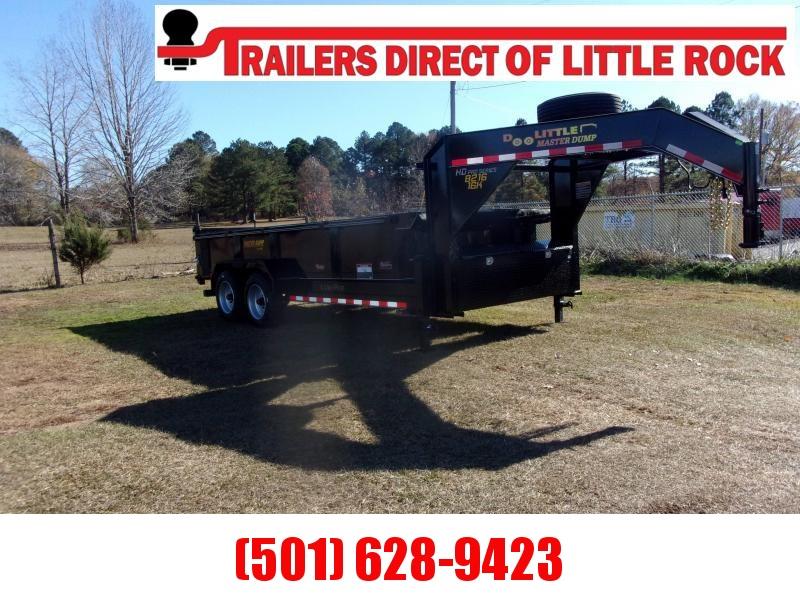 "Doolittle Master Dump  82"" x 16 Tandem Axle 16K Dump Trailer"