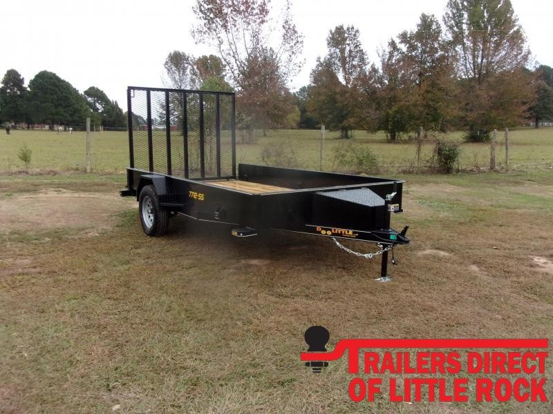 2021 Doolittle77x12  SS Series Utility Trailer
