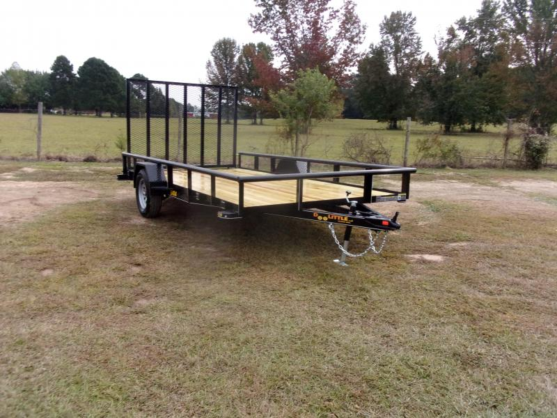 2021 Doolittle 84x14 Utility Trailer 5' Gate