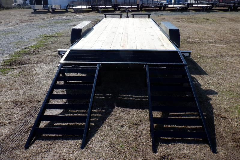 Doolittle Xtreme 84x20 10K GVWR Equipment Trailer Flip Up Ramps
