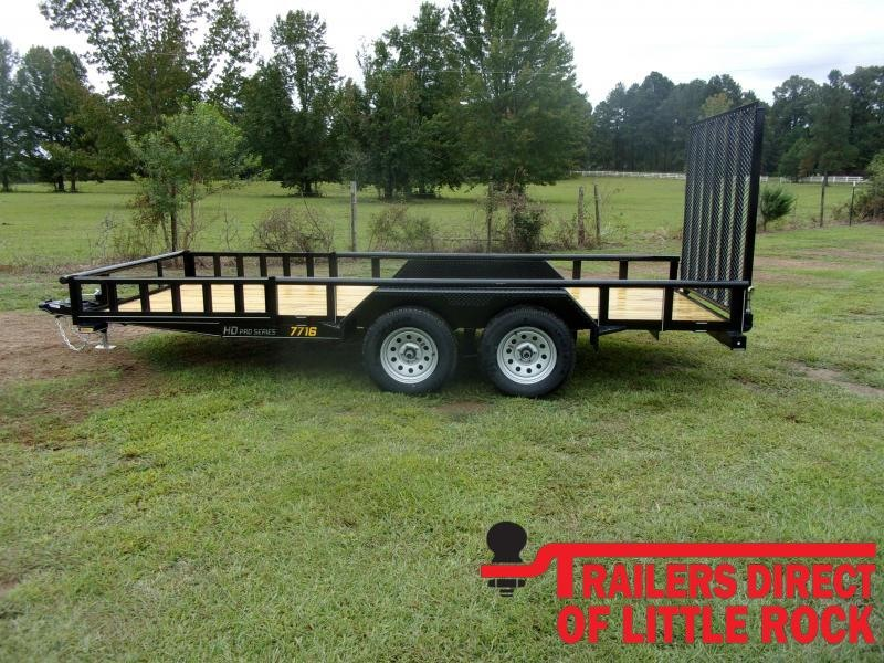 2021 Doolittle Trailer Mfg 770 Series Tandem Axle 7K Utility Trailer