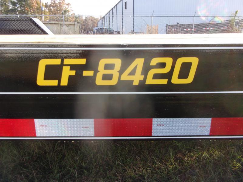 Doolittle 84x20 Channel Flatbed 10K GVWR Equipment Trailer