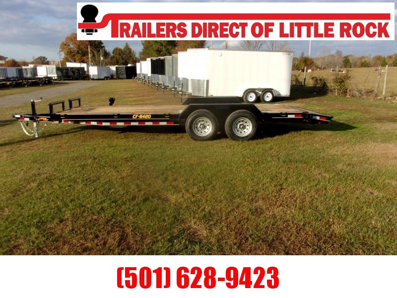 Doolittle 84x20 Channel Flatbed 10K GVWR Equipment Trailer