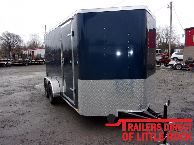 2020 Doolittle Trailer Mfg Bullitt 7x14 Tandem Axle 7K Enclosed Cargo Trailer