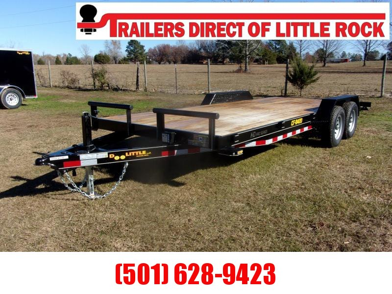 Doolittle  84x20 Channel Flatbed 10K Equipment Trailer