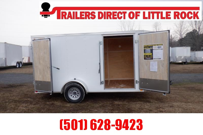 Doolittle RS cargo 6x12 Single Axle Barn Day