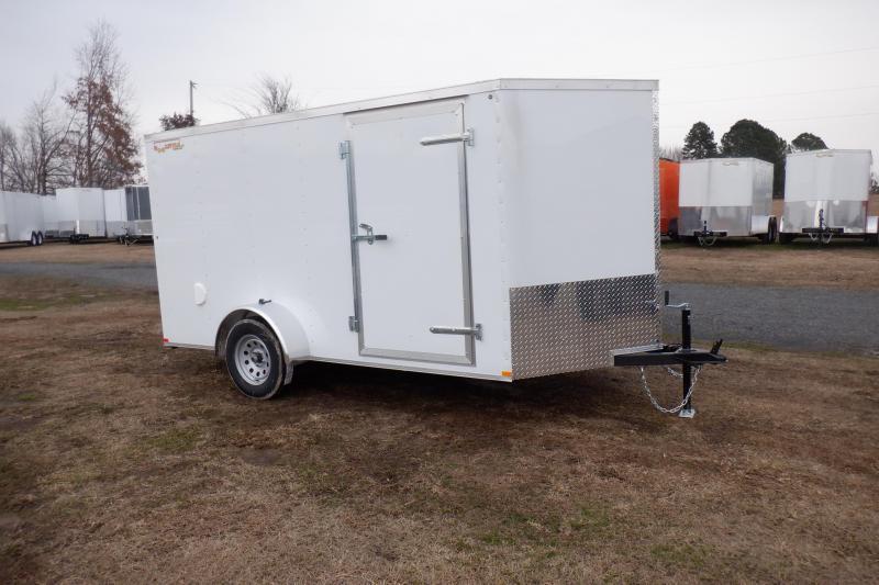 Doolittle RS cargo 6x12 Single Axle Barn Day