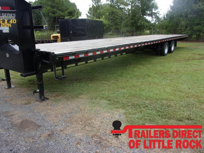 2020 Doolittle Trailer Mfg Brute Force 102x40 Tandem Axle 22K Equipment Trailer