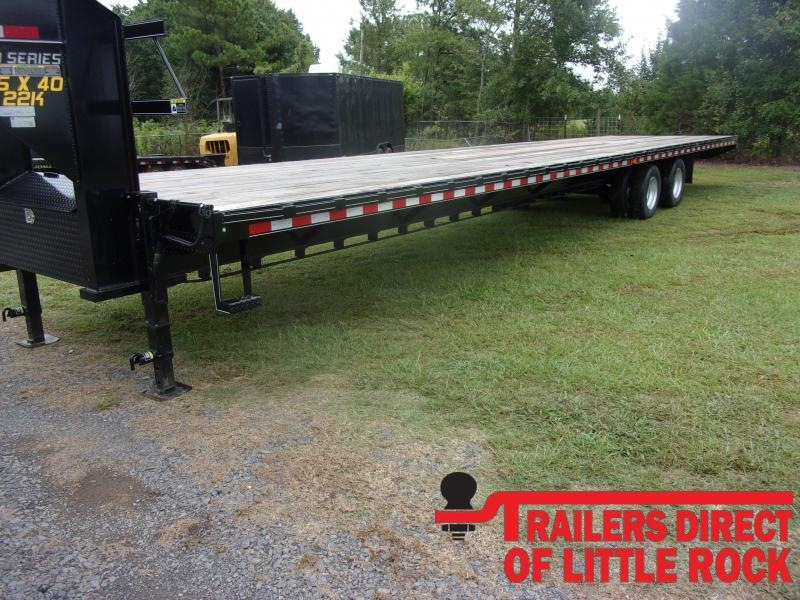 2020 Doolittle Trailer Mfg Brute Force 102x40 Tandem Axle 22K Equipment Trailer