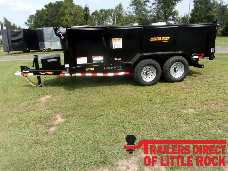 "2021 Doolittle Trailer Mfg Masterdump 8200 Series 82"" x 14 Tandem Axle 14K Dump Trailer"