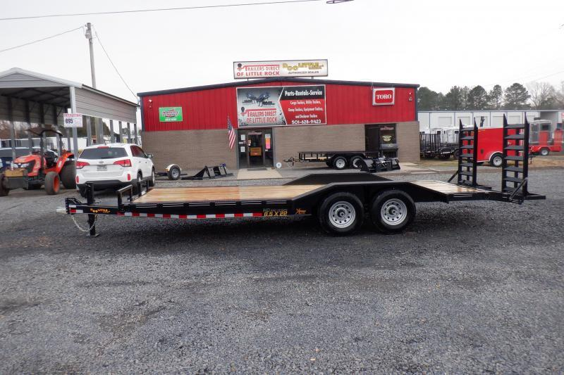 Doolittle Xtreme 102x22  14K gvwr Equipment Trailer Drive on fenders
