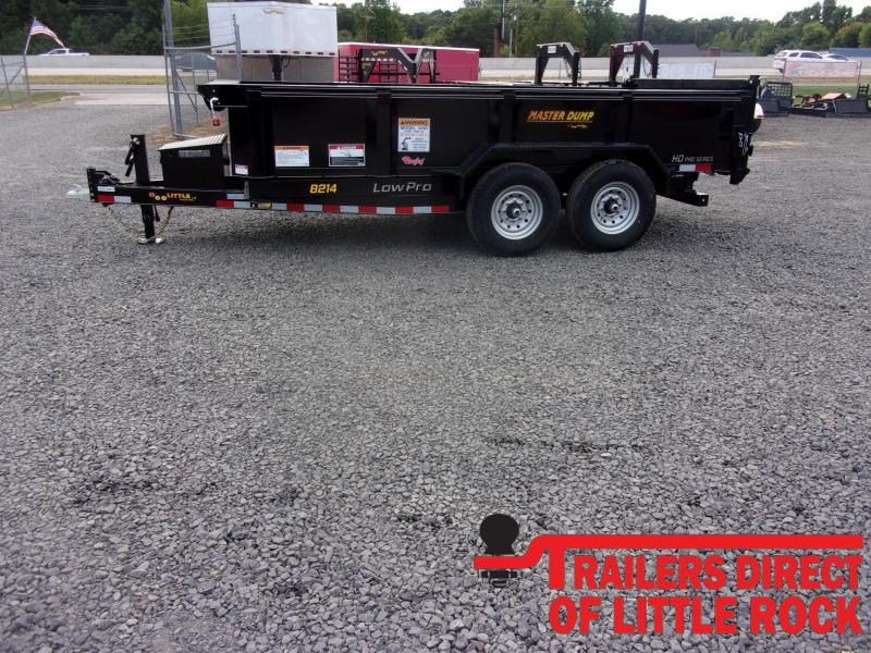 "2020 Doolittle Trailer Mfg Masterdump 8200 Series 82"" x 14 Tandem Axle 14K Dump Trailer"
