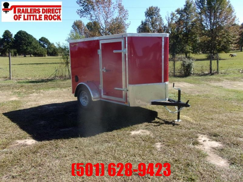 2021 Doolittle 5X8 Single Axle Enclosed Cargo Trailer