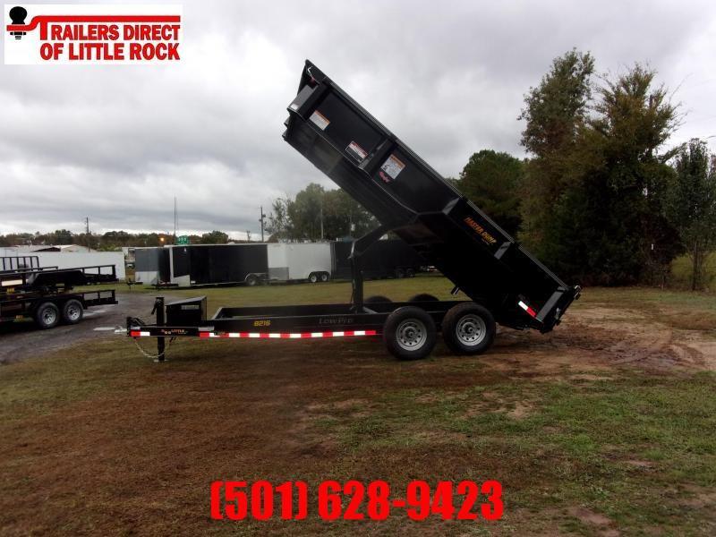 "Doolittle  Master dump 82"" x 16 Tandem Axle 14K gvwr scissor lift & tarp kit"