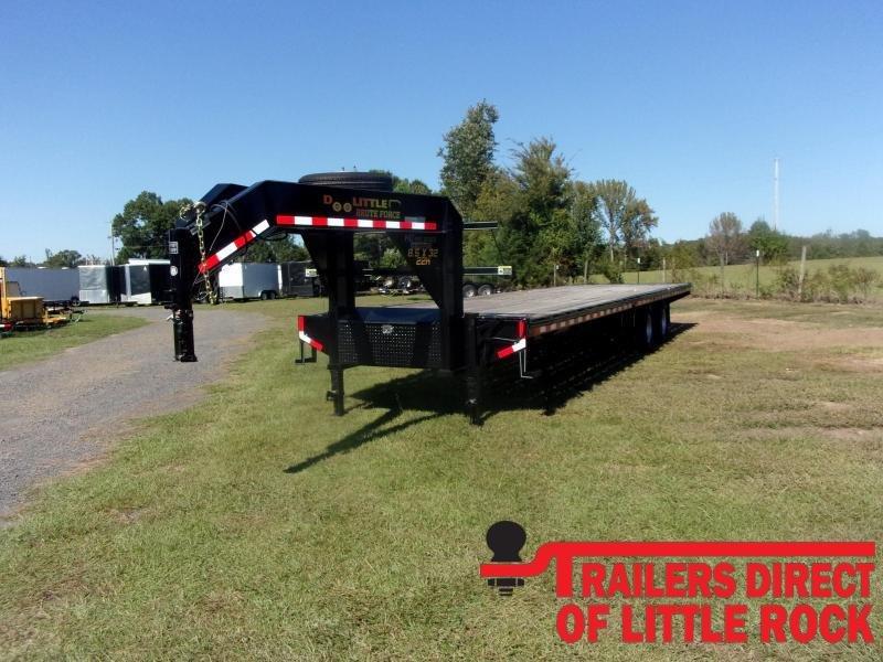 2021 Doolittle Trailer Mfg Brute Force102X32 22K Equipment Trailer