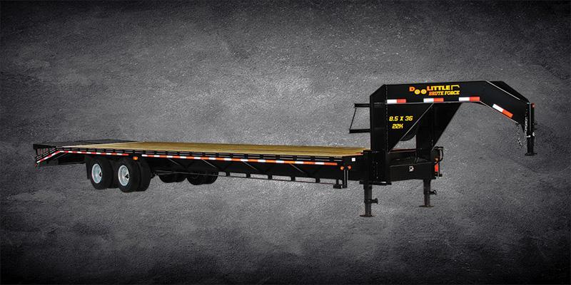 Doolittle Brute Force102X32 22K GVWR FLAT DECK Equipment Trailer