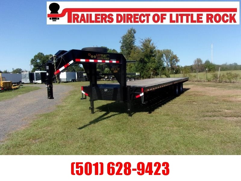 Doolittle Brute Force102X32 22K GVWR FLAT DECK Equipment Trailer