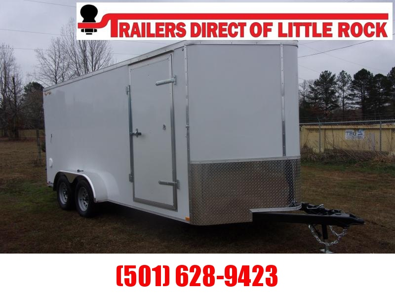 Doolittle Bullitt 7X16  7K GVWR Enclosed BARN DOOR