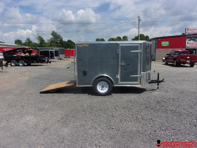 2020 Doolittle Trailer Mfg Bullitt 5' Wide Single Axle Enclosed Cargo Trailer