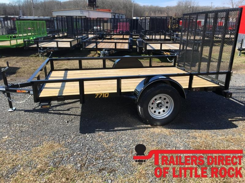 2020 Doolittle Trailer Mfg Rally Sport 770 Series 3K Single Axle Utility Trailer