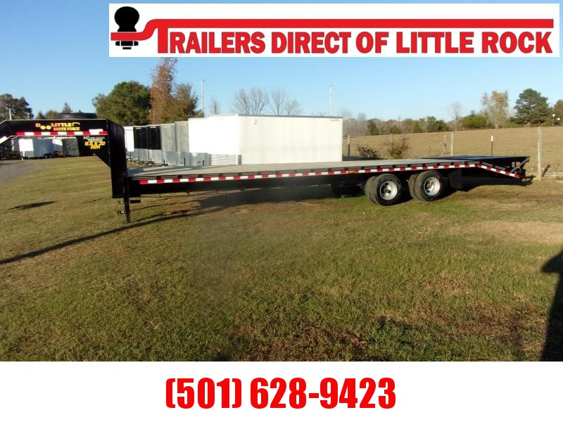 Doolittle Brute Force 102x32  22K gvwr mammoth ramps  Equipment Trailer