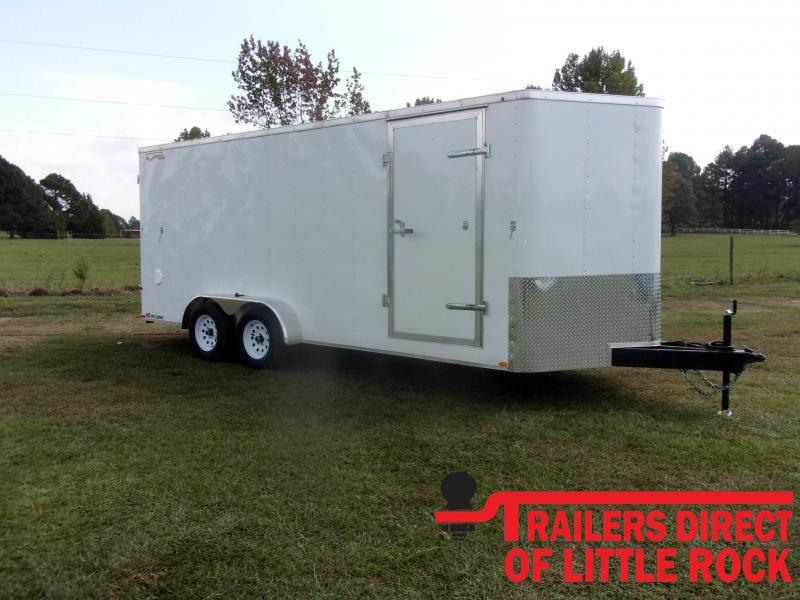 2021 Doolittle 7X18Tandem Axle 7K GVWR Enclosed Cargo Trailer