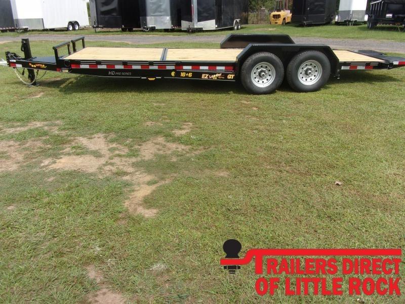 2021 Doolittle Trailer Mfg EZ Loader GT 82x22 14K Equipment Trailer