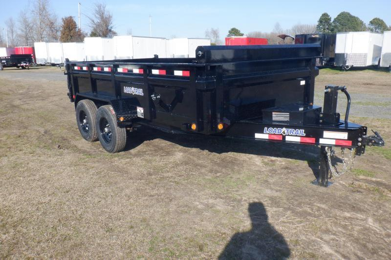 """2020 Load Trail DH14 - 14000lb 8"""" Frame Low-Pro Dump Trailer Dump Trailer"""