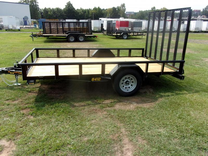 Doolittle 84x12 Single Axle  Utility Trailer 5' EZ-LIFT GATE