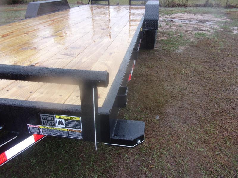 Doolittle  82X22 Channel Flatbed 14K GVWR HD FLIP UP RAMP