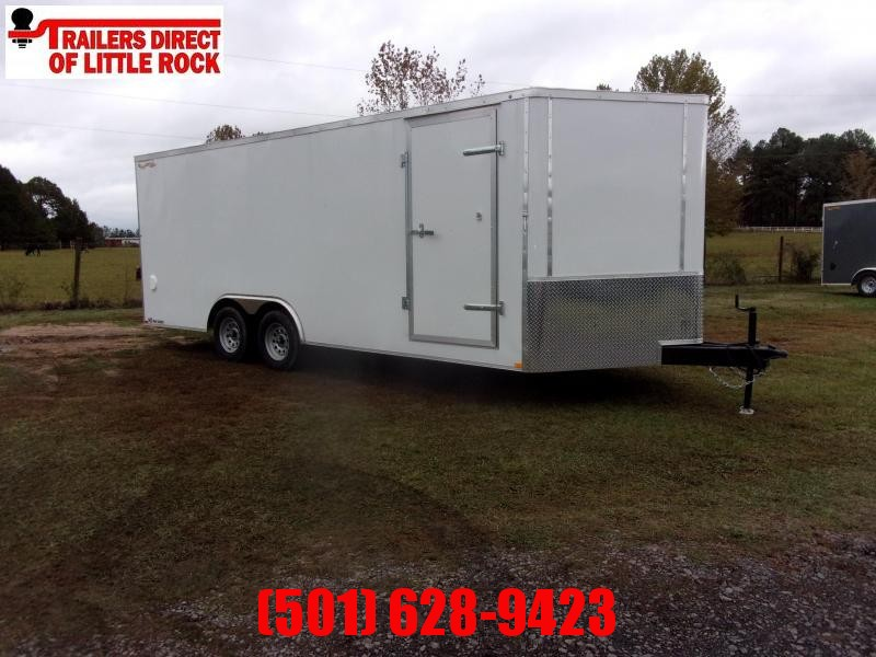 2021 Doolittle Bullitt 8.5x20 7K gvwr Enclosed rear ramp