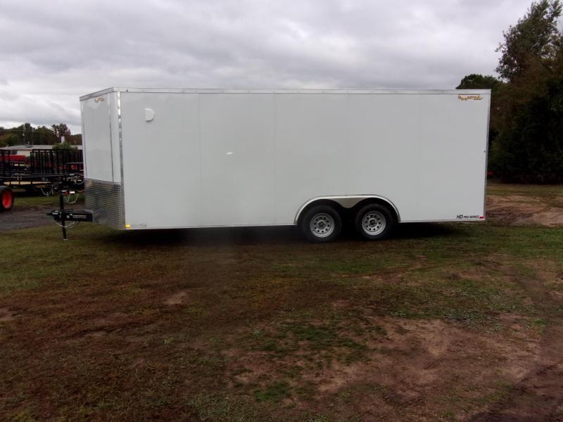 2021 Doolittle Bullitt 8.5x20 7K gvwr Enclosed rear ramp
