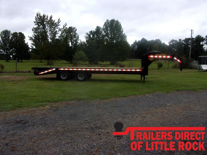 2021 Doolittle Trailer Mfg Brute Force 102x25 Tandem Axle 22K Equipment Trailer