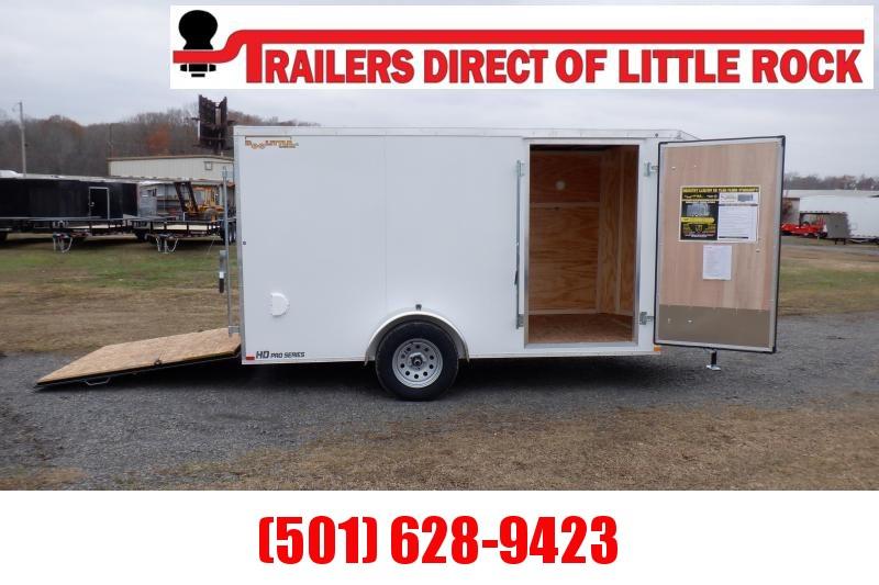 Doolittle Bullitt 6X12 Enclosed Cargo Trailer REAR RAMP