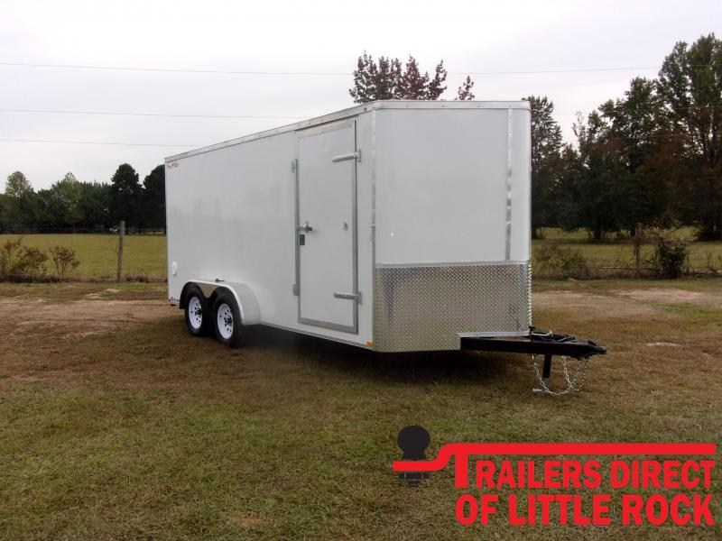 2021 Doolittle7X14 Tandem Axle 7K GVWR Enclosed Cargo Trailer