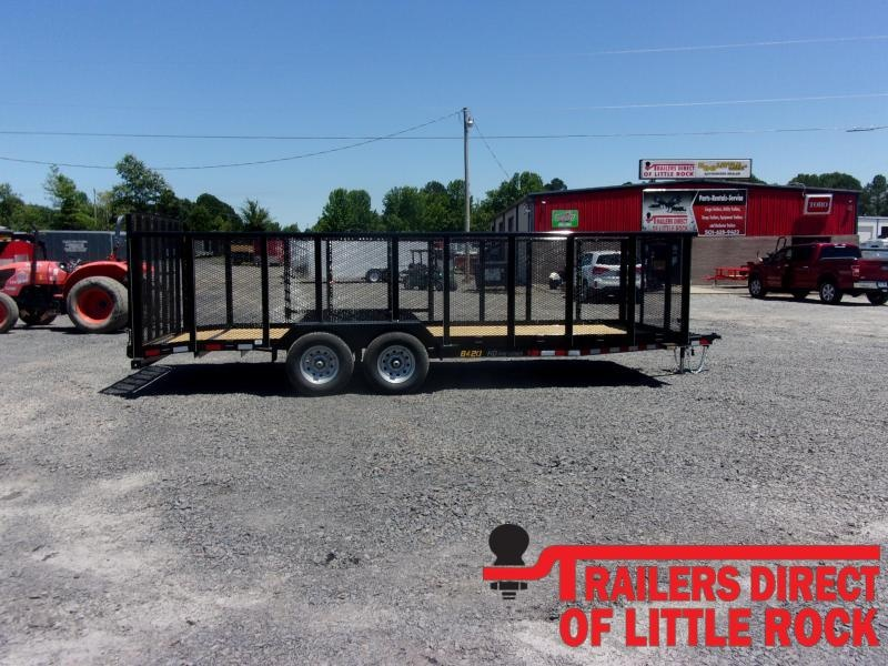 2020 Doolittle Trailer Mfg 840 Series Tandem Axle 7K Utility Trailer