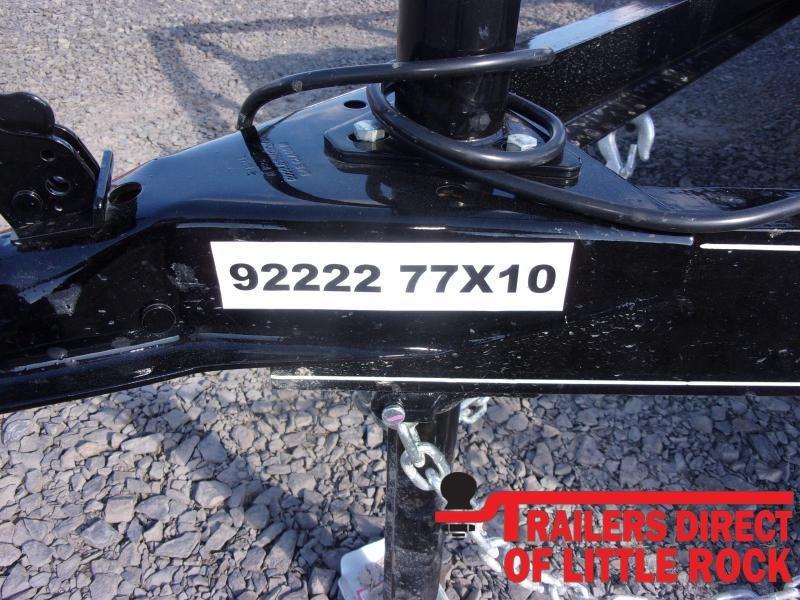 2021 Doolittle Trailer Mfg Rally Sport 770 Series 3K Single Axle Utility Trailer